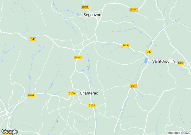 Map for Chanterac ,Aquitaine ,France