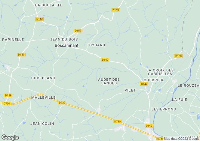 Map for St-Aigulin, Charente-Maritime, Poitou-Charentes