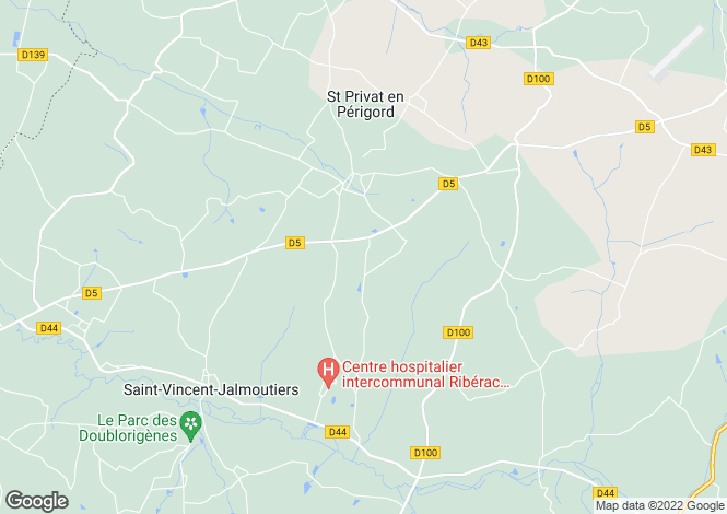 Map for vanxains, Dordogne, France