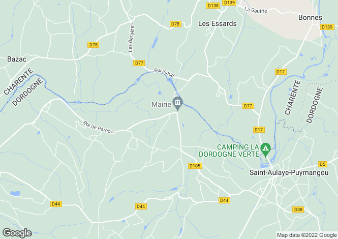 Map for Chenaud, Dordogne, Aquitaine
