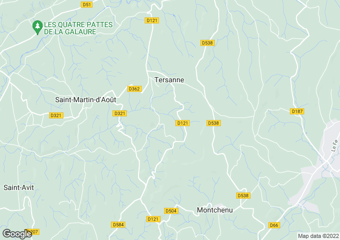 Map for tersanne, Drôme, France