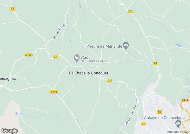 Map for la-chapelle-gonaguet, Dordogne, France