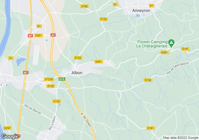 Map for , Ardèche, France