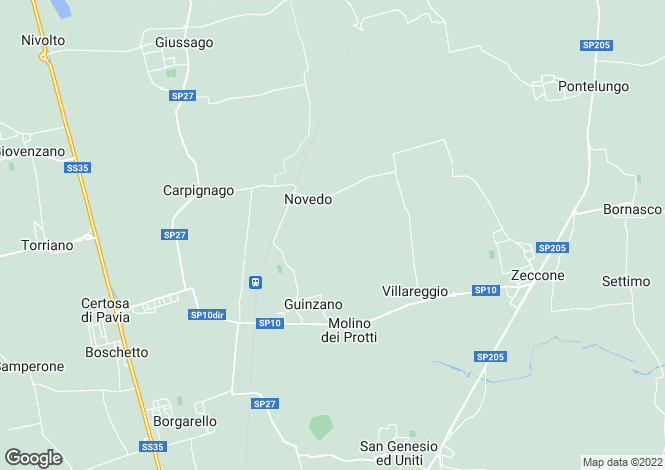 Map for Pavia, Pavia, Lombardy