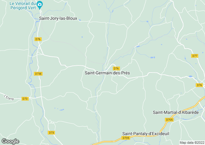 Map for nr-excideuil, Dordogne, France