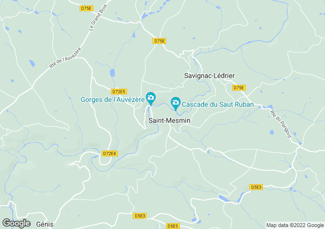 Map for st-mesmin, Dordogne, France
