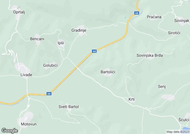 Map for Luxury Villa, Motovun, Istria, Croatia
