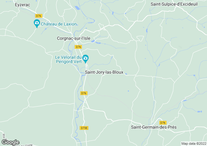 Map for st-jory-las-bloux, Dordogne, France