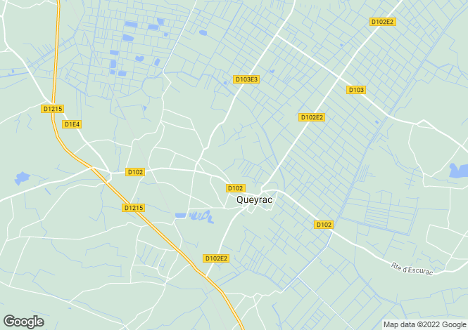 Map for queyrac, Gironde, France