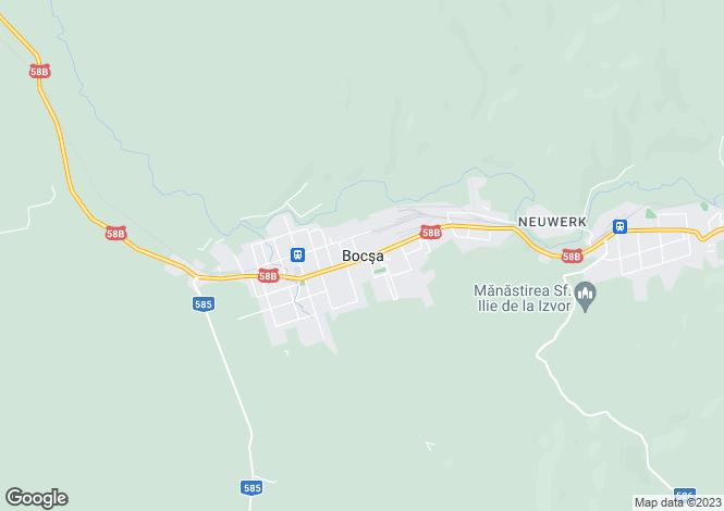 Map for Caras-Severin, Resita