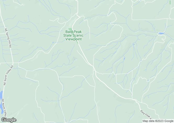 Map for USA - Oregon, Washington County, Hillsboro