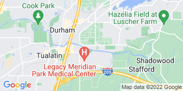Rivergrove Pressure Washing map