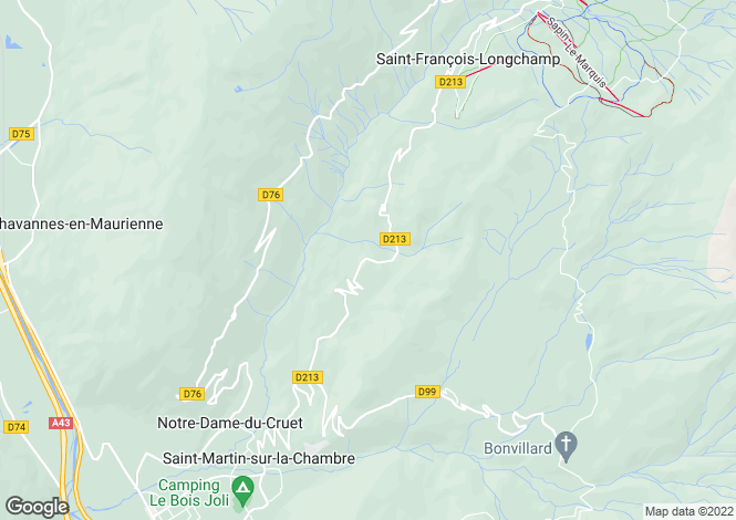 Map for st-francois-longchamp, , France
