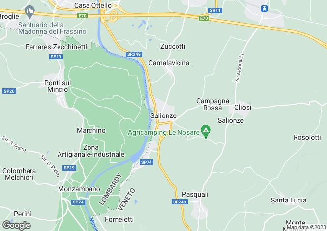 Map for Valeggio Sul Mincio 37067, Verona
