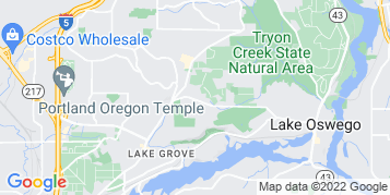 Lake Oswego Bird Control map
