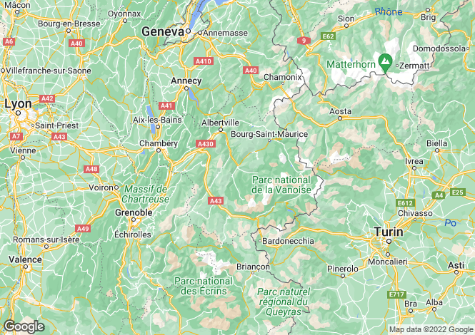 Map for le-revard, Savoie, France