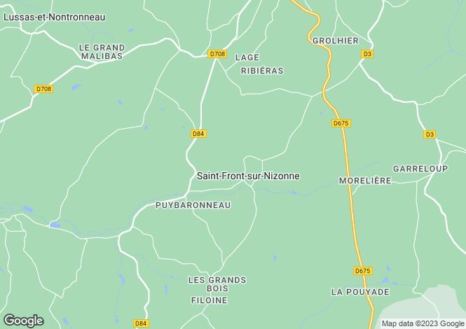 Map for st-front-sur-nizonne, Dordogne, France