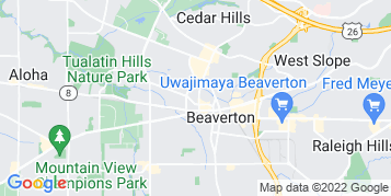 Beaverton Window Cleaning map