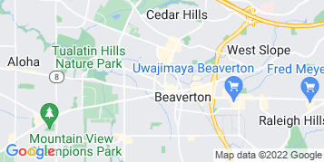 Beaverton Bird Control map