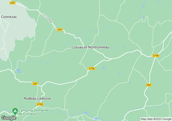 Map for lussas-et-nontronneau, Dordogne, France