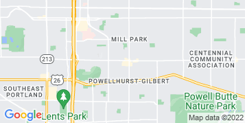 Powellhurst-Gilbert Gutter Cleaning map