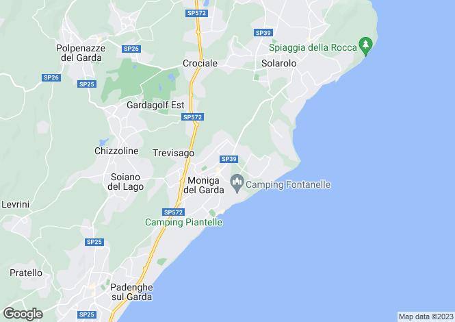 Map for Moniga Del Garda 25080, Brescia