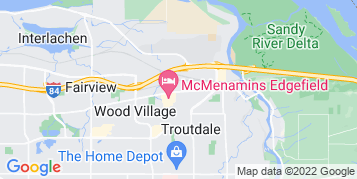 Troutdale Window Cleaning map