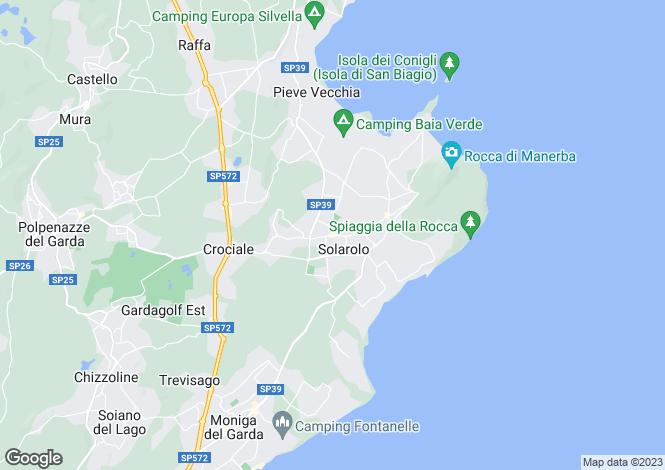 Map for Manerba del Garda Manerba Del Garda 25080, Brescia