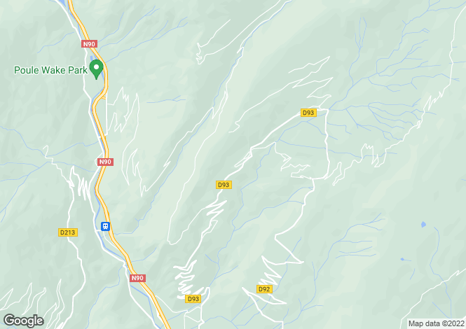 Map for Rhone Alps, Savoie, Naves