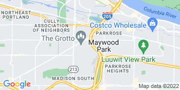 Maywood Park Gutter Cleaning map