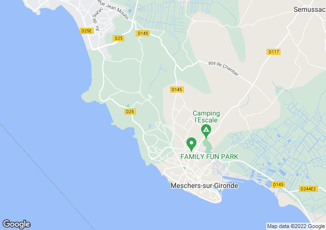 Map for meschers-sur-gironde, Charente-Maritime, France