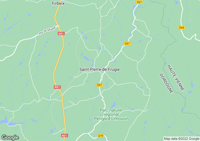 Map for st-pierre-de-frugie, Dordogne, France
