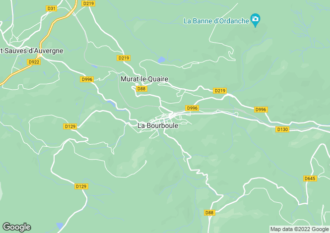 Map for la-bourboule, Puy-de-Dôme, France