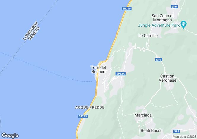 Map for torri del benaco Torri Del Benaco 37010, Verona
