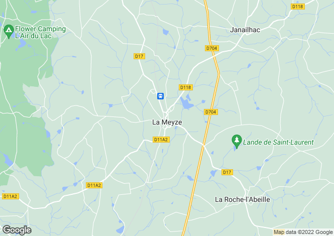 Map for LaMeyze, Limousin, 87800, France