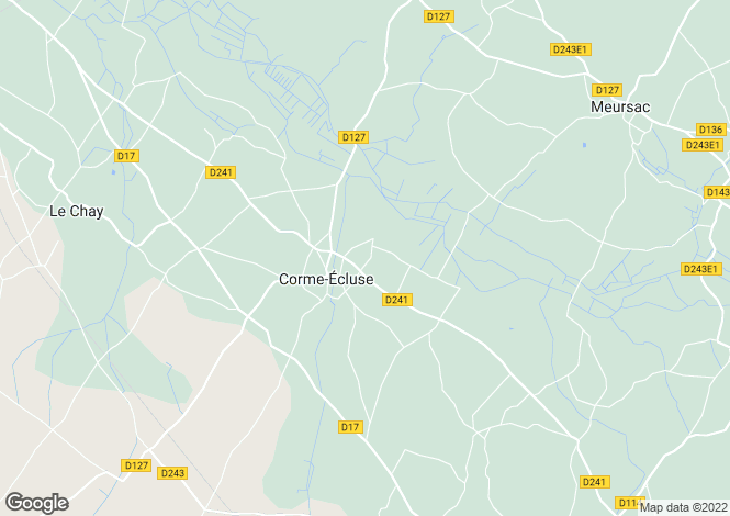 Map for corme-ecluse, Charente-Maritime, France