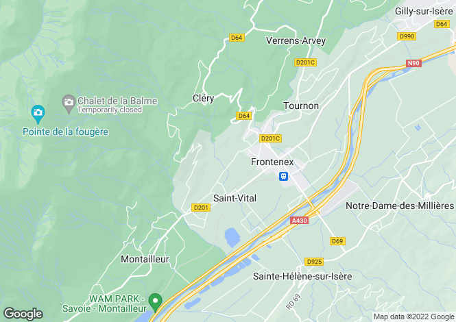 Map for tournon, Ardèche, France