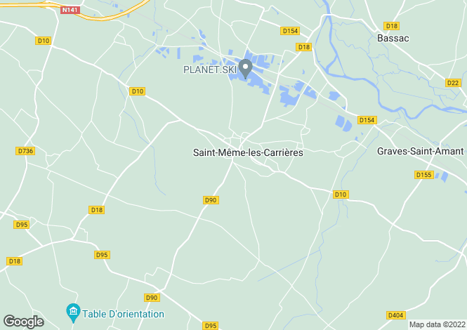 Map for st-meme-les-carrieres, Charente, France