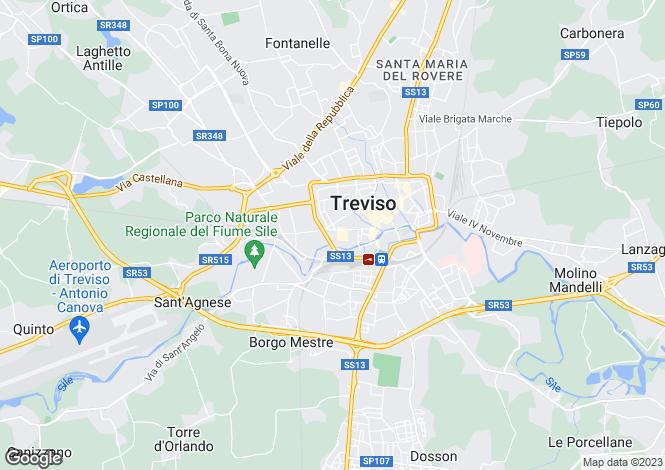 Map for Italy - Veneto, Treviso, Treviso