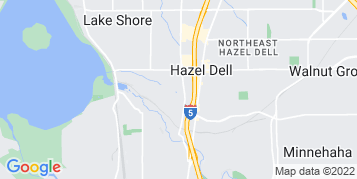 Hazel Dell Roof Cleaning map