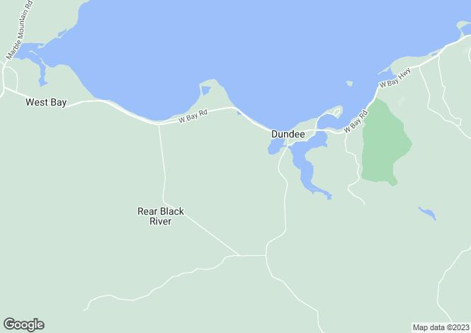 Map for Nova Scotia, Dundee