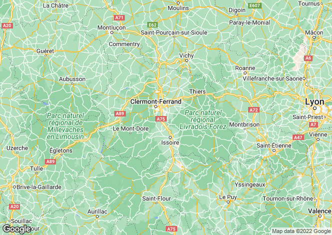 Map for st-hilaire-pres-pionsat, Puy-de-Dôme, France