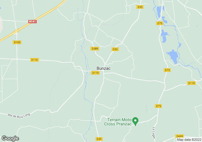 Map for angouleme, Charente, France