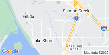 Salmon Creek Pressure Washing map