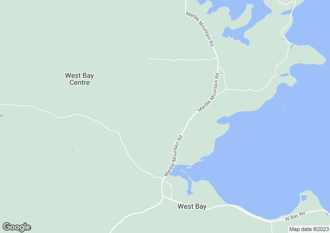 Map for St Peter`s, Nova Scotia