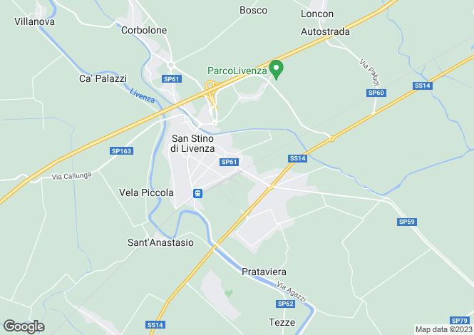 Map for Veneto, Venice, Santo Stino di Livenza