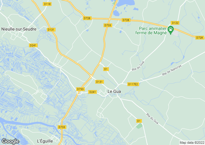 Map for le-gua, Charente-Maritime, France
