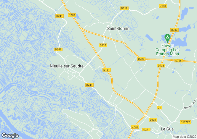 Map for nieulle-sur-seudre, , France