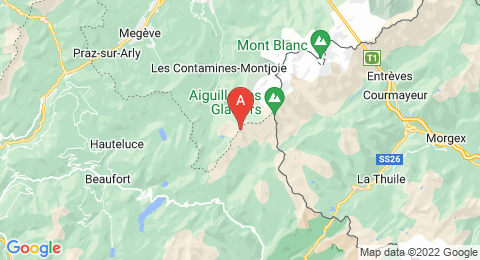 map of Mont Tondu (France)