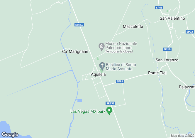 Map for Aquileia, 33051, Italy